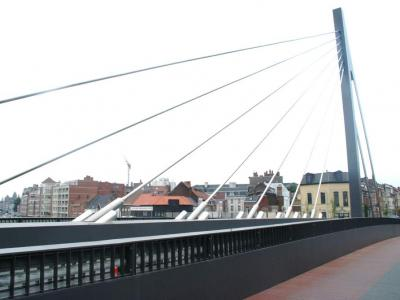 Le Noordbrug à Courtrai