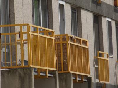 Des balustrades pour balcons dans le quartier anversois de Kiel
